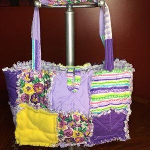 Bobbies Bags Handmade Patchwork Tote Bag